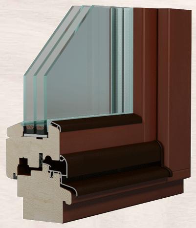 Дерев'яні вікна ТМ «Модерн».