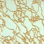Скло «Дельта» біле - золота жилка.