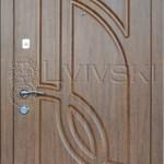 Двері вхідні ТМ «Lvivski» модель LV 102.