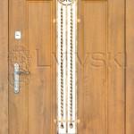 Двері вхідні ТМ «Lvivski» модель LV-105-1K.