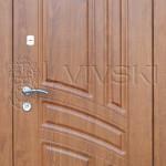 Двері вхідні ТМ «Lvivski» модель LV-134.