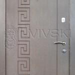 Двері вхідні ТМ «Lvivski» модель LV-204.