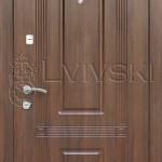 Двері вхідні ТМ «Lvivski» модель LV-210.