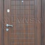Двері вхідні ТМ «Lvivski» модель LV-212.
