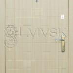 Двері вхідні ТМ «Lvivski» модель LV-213.