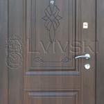 Двері вхідні ТМ «Lvivski» модель LV-221.
