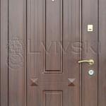 Двері вхідні ТМ «Lvivski» модель LV-304.