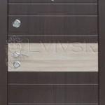 Новинка. Двері вхідні ТМ «Lvivski» модель LV 503.