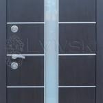 Новинка. Двері вхідні ТМ «Lvivski» модель LV 607.