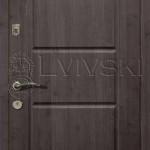 Двері вхідні ТМ «Lvivski» модель LV-107.