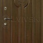 Двері вхідні ТМ «Lvivski» модель LV-135.